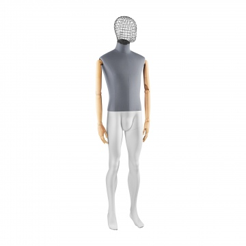 OLD MODERN Male mannequin - ATM-T6-WA