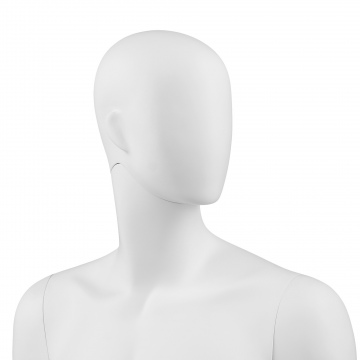 ONE MALE HEADLESS Male mannequin - ABSTRACT HEAD