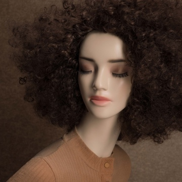 FEMALE WIGS - FW1777Y-6 Afro, Brown