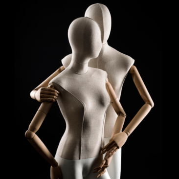 910 SERIES - ABSTRACT Female mannequins