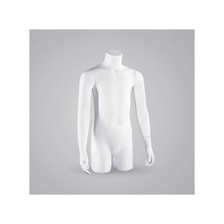 Wide range of female and male mannequin torsos and displays ac6ed368e
