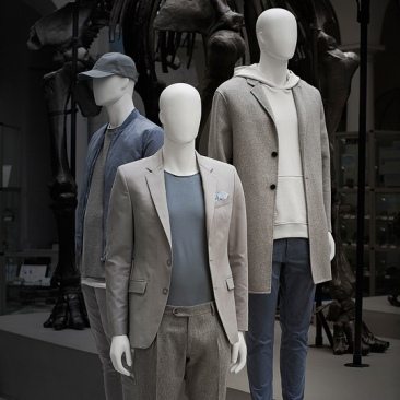 ONE MALE ABSTRACT - ABSTRACT mannequins Male