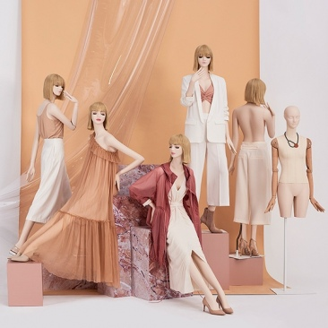INDIVIDUAL ABSTRACT - ABSTRACT Female mannequins