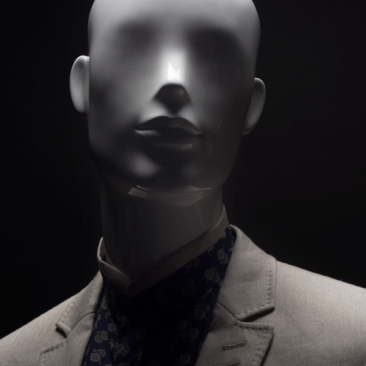 VALENTINO - Abstract Male mannequins