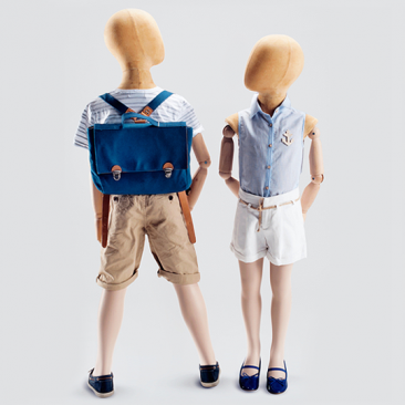 OLD MODERN KIDS - Abstract Children's mannequins