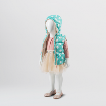 810 SERIES - Abstract Children's mannequins