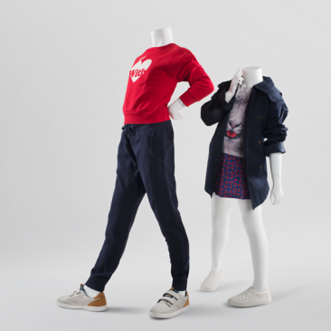 800 SERIES - HEADLESS - BASIC Kids mannequins