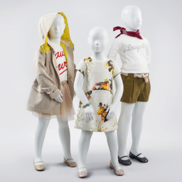 COCO KIDS - Abstract Children's mannequins